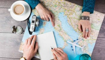 people planning for travel