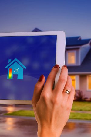 Smart Home House Technology Multimedia Tablet